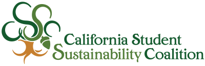 California Student Sustainability Coalition Logo