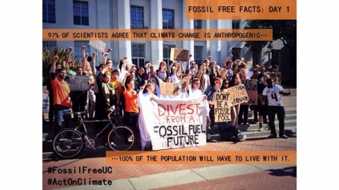 Fossil Fuel Haunting UC-Wide Action