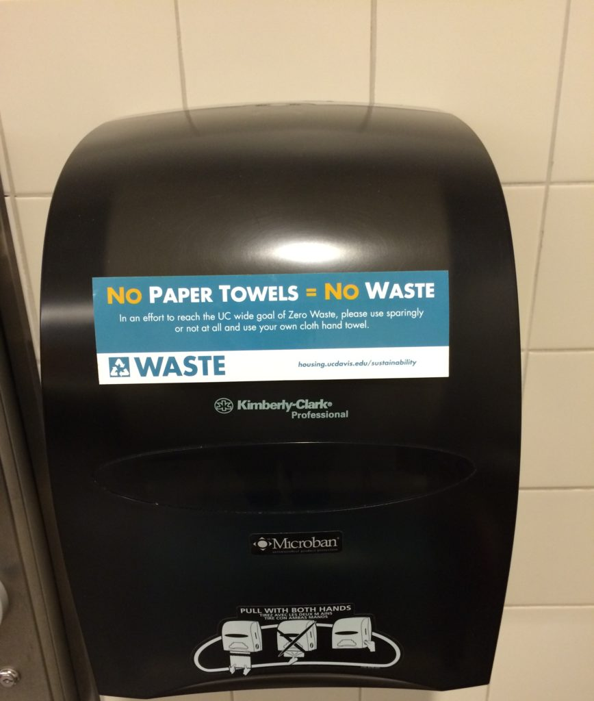 you won u0026 39 t believe how uc davis replaced paper towels with hand towels